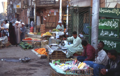Street Hawkers in Luxor