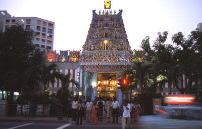 Hindu-Tempel in Little India