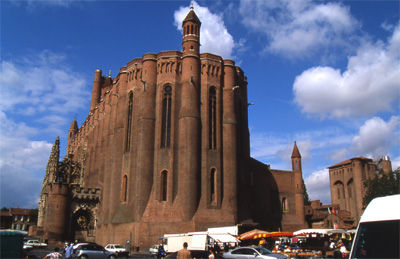 The cathedral of Albi